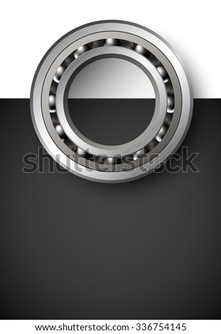 vector bearings illustration - stock vector