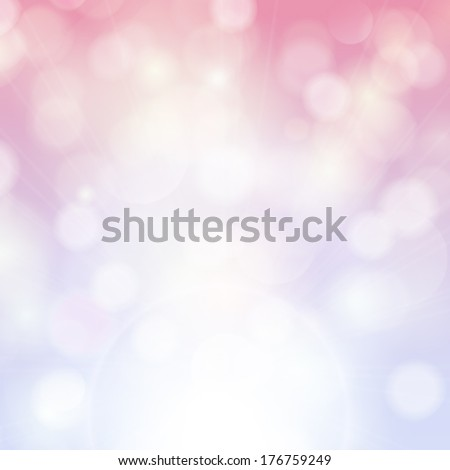 Vector beautiful abstract background with dreamy soft faded colors.