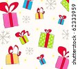 Vector beautiful Christmas background - stock vector
