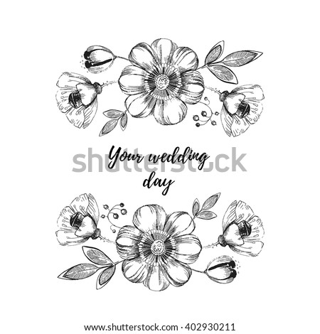 Flower Sketch Stock Images, Royalty-Free Images & Vectors ...