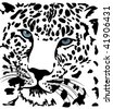 Vector beautiful tiger - stock vector