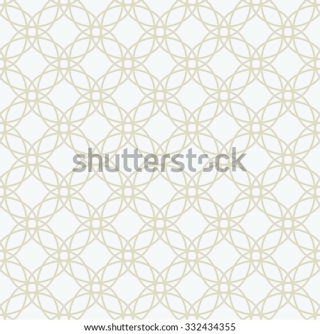 Vector beige seamless pattern. Elegant ornament background  - stock vector