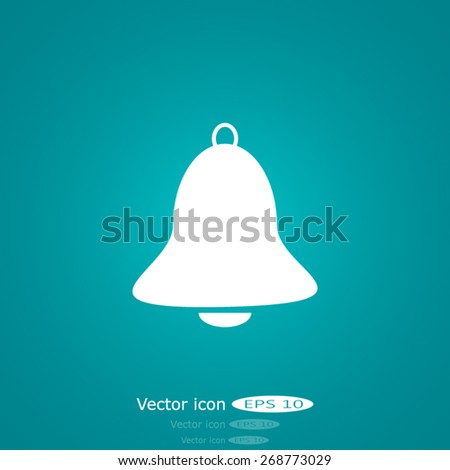 Vector Bell Icon - stock vector