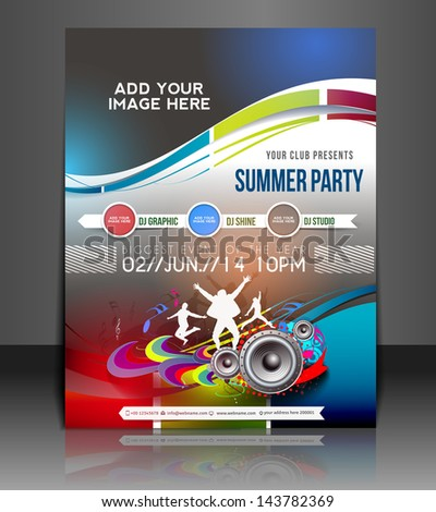 Vector Billiard Tournament Brochure, Flyer, Magazine Cover & Poster Template - stock vector