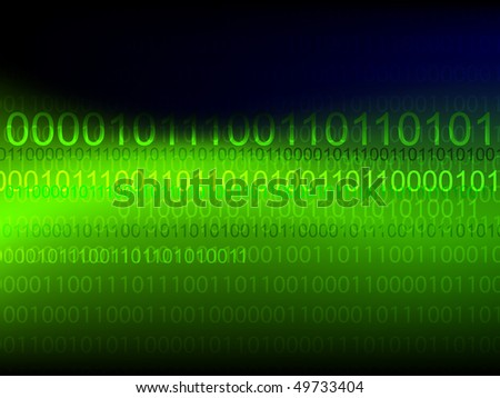 Vector binary technology background
