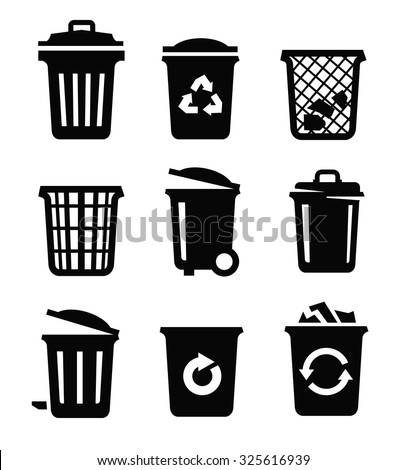 trashcan stock images royaltyfree images amp vectors