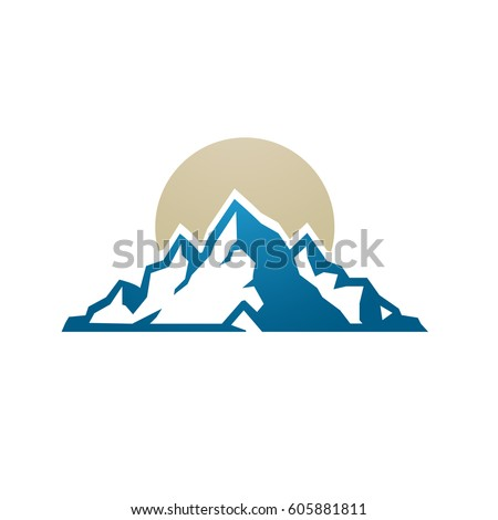 mountain range stock vector 154266140 shutterstock