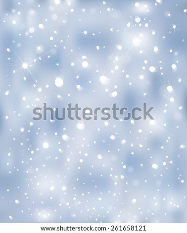 Vector blue sparkle background. - stock vector