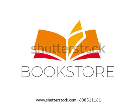 vector book writer simple abstract shapes stock vector 608511161 shutterstock