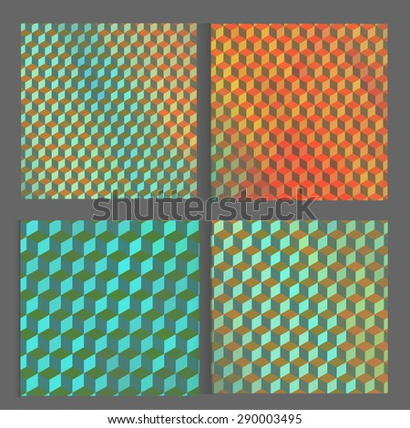 Vector bright cube pattern background for your business. Creative design for card, web design background, book cover. EPS10. - stock vector