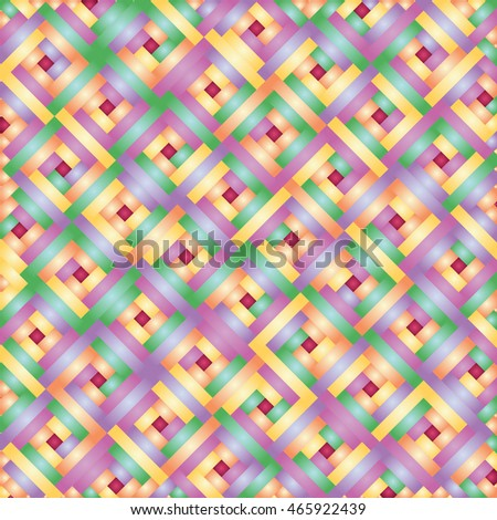 Vector bright geometric abstract background