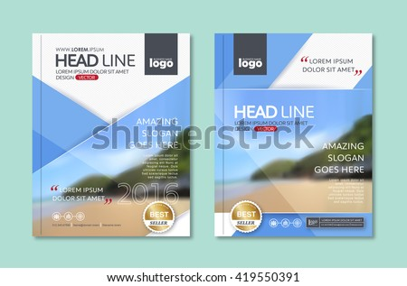 Vector Brochure Flyer design Layout template in A4 size,book cover layout design,company profile template