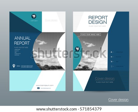 Vector Brochure Flyer Template Layout A4 Vector 571854376 – Pamphlet Layout