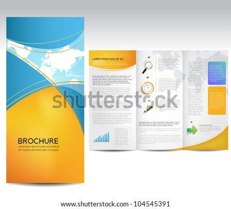Brochure Layout Design Images RoyaltyFree Images Vectors – Pamphlet Layout