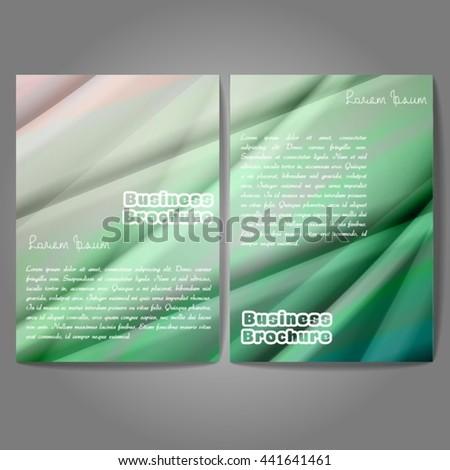 Vector Brochure Template Design A 4 Size Stock Photo Photo Vector