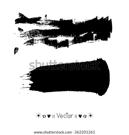 Vector brush stroke, Illustration EPS10 great for any use.