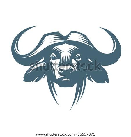 Vector bull - stock vector