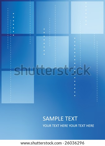 vector business background - stock vector