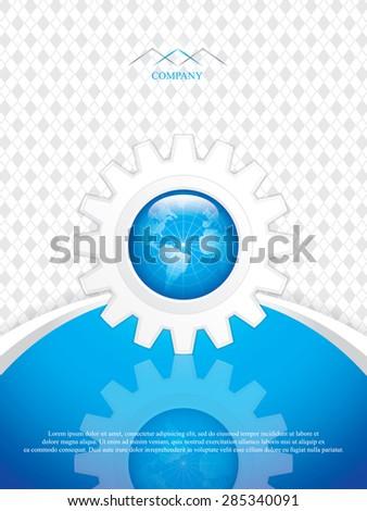 Vector business brochure - stock vector