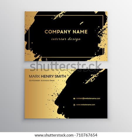 Vector business card luxury business card stock vector royalty free vector business card luxury business card design reheart Image collections
