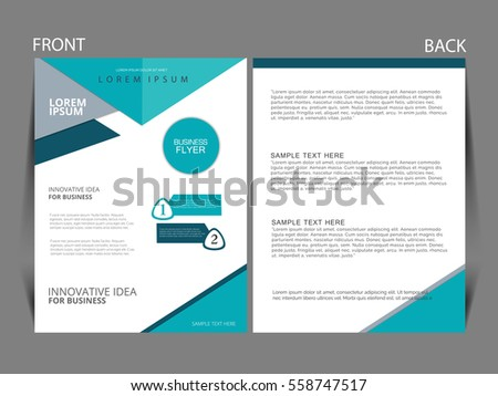 Vector business flyer magazine cover poster stock vector 558747517 vector business flyer magazine cover poster template wajeb Gallery