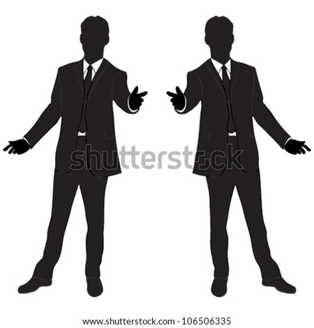Stock Images similar to ID 98079296 - vector business man ...