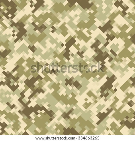 Vector camouflage pattern - stock vector