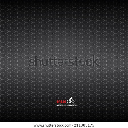 Vector carbon fiber and dark grey background