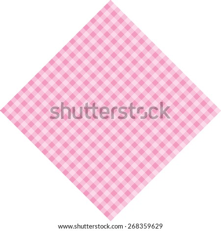 Vector card or invitation for baby shower, wedding or birthday party with stripes and sweet white cute pink background with white space - stock vector