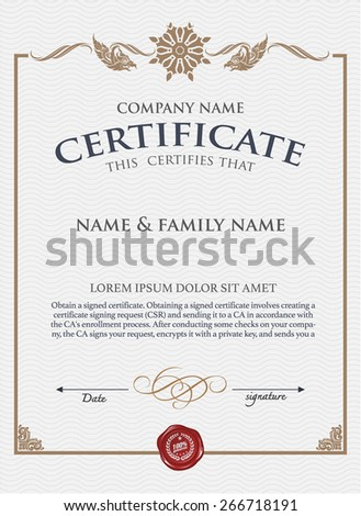 Calligraphy border stock images royalty free images for Calligraphy certificate templates