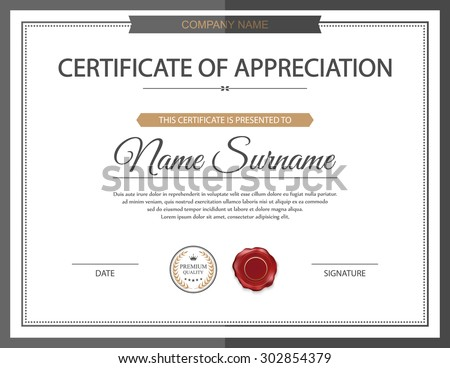 Diploma certificate stock images royalty free images vectors vector certificate template yelopaper Images