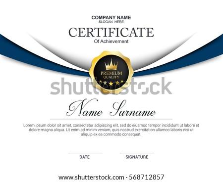 vector certificate template stock photo photo vector illustration rh shutterstock com vector certificate border templates blue vector certificate design