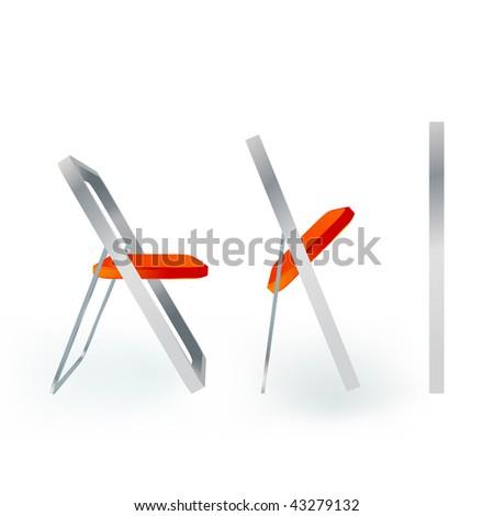 Vector Chair - stock vector