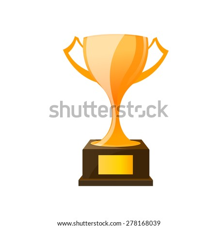 Vector Champions Cup  - stock vector
