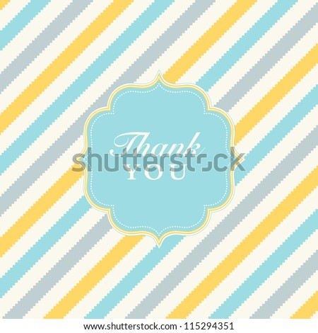 Vector Checkered Stripe Pattern and Frame. Easy to edit. Perfect for invitations or announcements. - stock vector