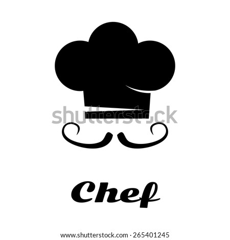 Vector chef card. Master-chef school. File format eps 10. - stock vector