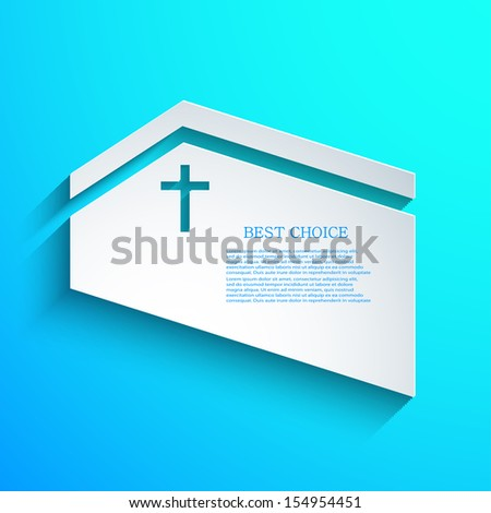 vector Christian background. Eps10 - stock vector