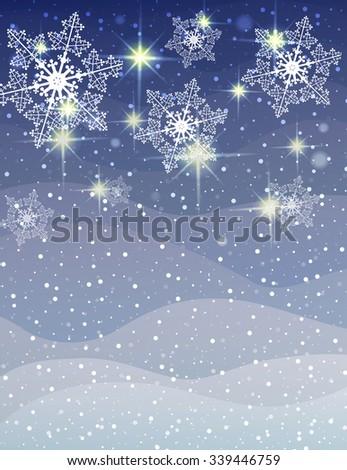 Vector Christmas background. Vector design - stock vector