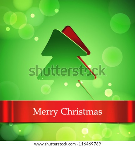 Vector christmas banner-02 - stock vector