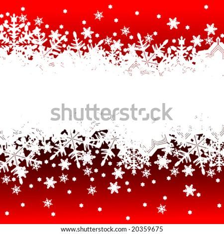 Vector Christmas banner - stock vector