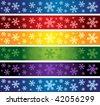 vector christmas banners - stock photo