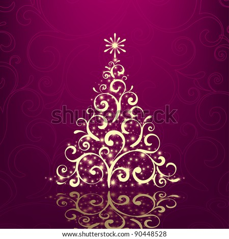 vector Christmas / New Year design - stock vector