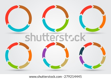 Vector circle arrows infographic template diagram stock vector vector circle arrows infographic template diagram stock vector 279214445 shutterstock ccuart Image collections