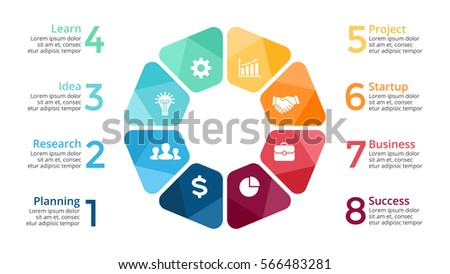 Vector circle arrows infographic cycle diagram stock vector vector circle arrows infographic cycle diagram graph presentation chart template business infographics pronofoot35fo Choice Image