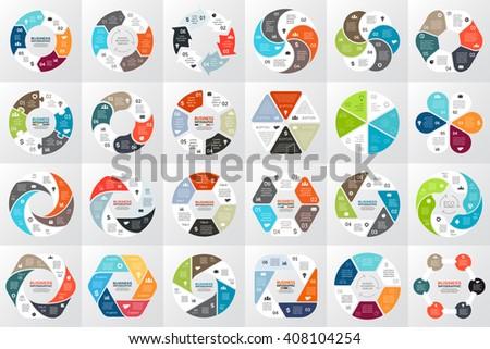 Vector circle arrows infographic hexagon diagram stock vector vector circle arrows infographic hexagon diagram graph presentation chart business cycle ccuart Choice Image