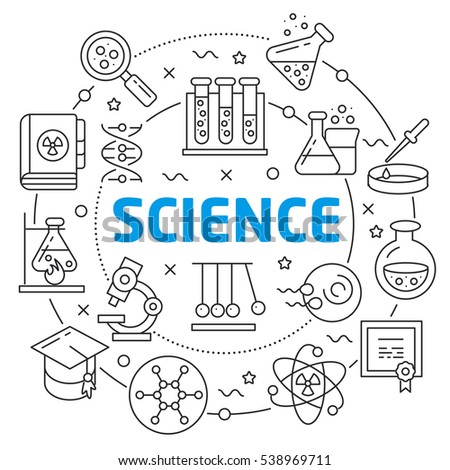 Science Coloring Book : Science stock images royalty free & vectors shutterstock