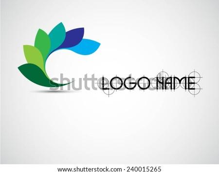 Vector Circle Logo Design Template . Infinite Loop Shape Cycle Creative Symbols . - stock vector