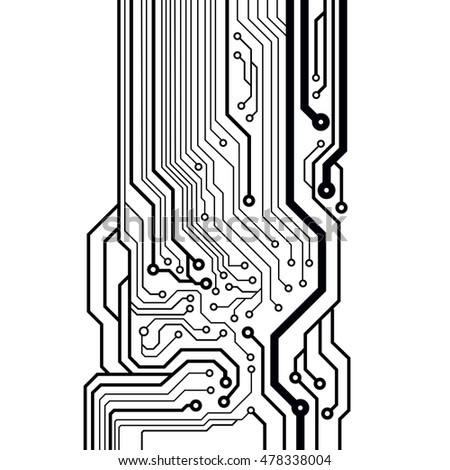 vector circuit board illustration stock vector 478338004 rh shutterstock com vector circuit board free vector circuit board clipart