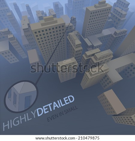 VECTOR CITY - stock vector