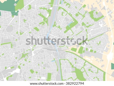 Vector City Map Apeldoorn Netherlands Stock Vector 2018 382922794